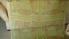 HERMES, KELLY EN PERLES,Silk (mousseline) Shawl 140 x 140cm. RARE ! with box.