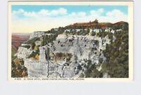 PPC POSTCARD ARIZONA GRAND CANYON NATIONAL PARK FRED HARVEY EL TOVAR HOTEL EXTER