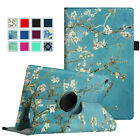 360 Rotating Case for Amazon Fire HD 8 (2017 7th Generation) Leather Cover Stand