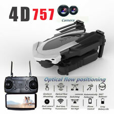 Drone 2.4G Selfi WIFI FPV With 1080P HD Camera Foldable RC Quadcopter Gift black