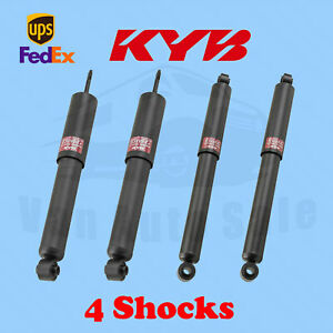 KYB Front Rear Shocks GR-2/EXCEL-G Gas Charged for FORD Bronco 1967-77 Kit 4