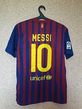 FC BARCELONA SPAIN 2011/2012 HOME FOOTBALL SHIRT JERSEY CAMISETA MAGLIA 10 MESSI
