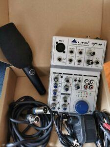 Mixer Alto AMX 80 + microfono AKG D5