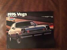 1976 Chevy Vega Sales Brochure