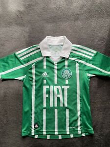 Adidas Palmeiras Maximo #9 Fiat Youth Soccer Jersey, Size M