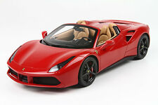 BBR 2015 Ferrari 488 SPIDER Rosso Corsa 322/Black Wheels 1:18 LE 288pcs *New!