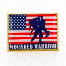 """Wounded Warrior Pin (Made in the Usa) Approx: 1 x 3/4"""""""