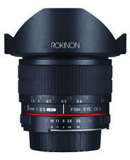 Rokinon 8mm F3.5 HD Fisheye Lens (Canon EF)