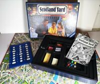 Vintage 1992 Ravensburger Scotland Yard Board Game 100% Complete Great Condition