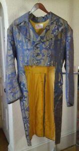 """Antique, Older, Faux Regency Tailcoat & Waistcoat (vest) Combination - 36"""" Chest"""