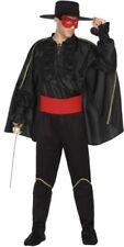 Déguisement Homme Zorro M/L Costume Adulte Dessin animé cinéma film