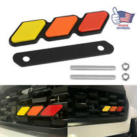 New Tri-color 3 Grille Badge EMBLEM EA For Toyota Tacoma 4Runner Tundra US Stock