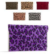 Ladies Stylish Leopard Envelope Clutch Animal Print Evening Bag Handbag K50293
