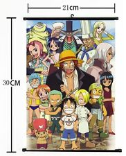 HOT Anime One Piece Wall Poster Scroll Home Decor Cosplay 502