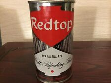 Redtop Beer (119-27) empty flat top beer can by Atlantic, Chicago, Il
