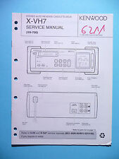 Service Manual-Anleitung für Kenwood X-VH7 ,ORIGINAL
