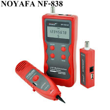 NOYAFA NF-838 Network Phone Wire Tracker LineFinder Short Circuit Line Cable