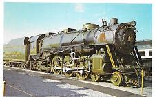 B&O Baltimore Ohio Railroad President Washington Locomotive 5300 Train Postcard