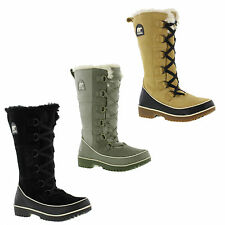 Sorel 100% Leather Lace Up Boots for Women