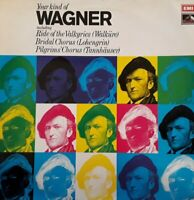Your Kind Of Wagner Lp.Emi/His Masters Voice Ykm5016.Classical/Orchestral/Choral