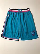 Nike x NBA Miami Heat Vice City Edition Authentic Basketball Shorts RARE Size 52