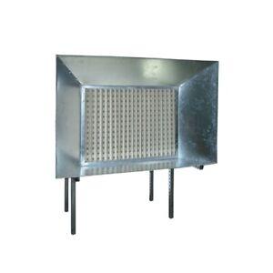 Spritzwand Farbnebelabsaugung Airfiner Dekor Box