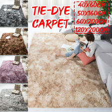 Soft Fluffy Shaggy Area Rugs Anti-Slip Living Room Floor Bedroom Rug Home  N