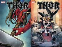 Marvel Comics Thor #7 Main + Klein Variant 9/16/2020