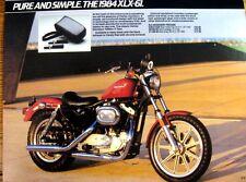 1983 1984 Harley Davidson Fashion & Accessories Brochure Sportster Low Rider
