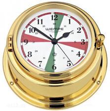 Poste de Télégraphie sans Fil Horloge Navire Bremen II Laiton Wempe  Horloge