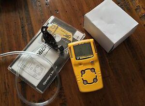 BW GasAlert MicroClip XT Multigas Monitor Detector H2S,LEL,CO,O2 New OXY