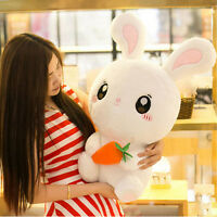 26'' Big Rabbit Plush Stuffed Doll White Cute Animal Animal Soft Toy Kid Girls *