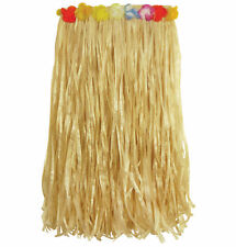 Hawaiian Hula Straw Skirt - Luau Grass Tropical Long Party Fancy Dress Costume
