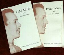 """Pedro Infante """"En La Intimidad Conmigo"""". Colecciona Este Libro Es UNICO!"""