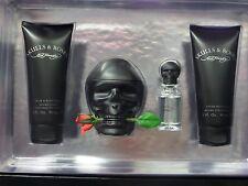 Ed Hardy Skulls and Roses by Christian Audigier 4PC Gift Set for Men