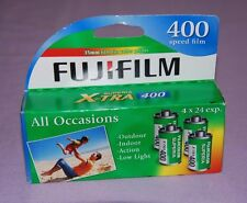 Pack of 4 Rolls Fujifilm Superia X-TRA ISO 400 24 Exposure 35mm Color Film - NEW
