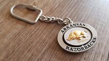 Arkansas Razorbacks Metal Keychain Key Ring