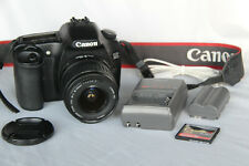 Canon Eos 30D 8.2Mp Digital Slr Camera with Ef-S 18-55mm f/3.5-5.6 Ii LensExc+