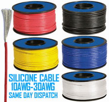 Flexible Soft Silicone Wire Cable 10/12/14/16/18/20/22/24/26/28/30 AWG