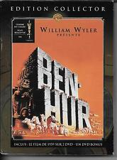 COFFRET DIGIPACK COLLECTOR 3 DVD ZONE 2--BEN HUR--HESTON/GRIFFITH/WYLER