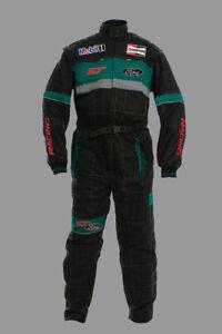 Neu Herren Ford ST Racing Motorsport Overall, Arbeitskleidung, Arbeitsoverall