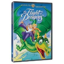 THE FLIGHT OF DRAGONS. (1982) Animated. UK compatible. New sealed DVD.