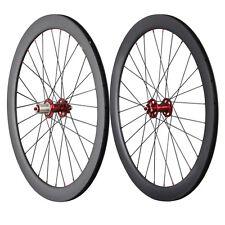 Cyclocross Wheelset Carbon 50mm Clincher Disc Brake 23mm Rim Width 28/28h
