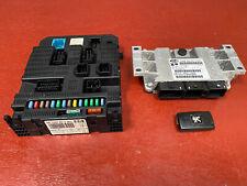 PEUGEOT 207 2006 KFU 1.4 16v 3 DOOR ECU KIT Set MAGNETI MARELLI IAW6LPC.105
