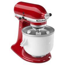 KitchenAid Ice Cream Maker Attachment Sorbet/Yogurt KICA0WH Fits 4.5 qt & Larger