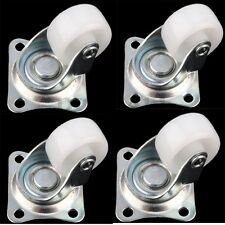 "4Pcs 1"" Swivel Caster Wheels Plate Casters for Smart Car ,Sofa Furniture"