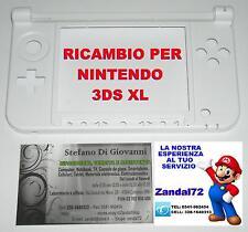 COVER CASE SCOCCA DI RICAMBIO PER NINTENDO 3DS XL COLORE BIANCO 3DSXL 3DSLL