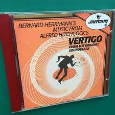 Bernard Herrmann VERTIGO Film Soundtrack CD Alfred Hitchcock James Stewart Novak