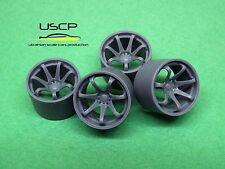1/24 wheels 16 inch XXR 522 for Tamiya Aoshima Hasegawa
