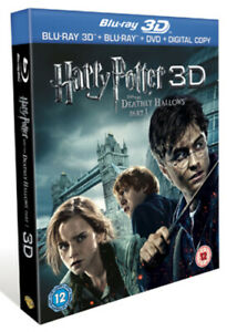 Harry Potter and the Deathly Hallows: Part 1 Blu-ray (2011) Daniel Radcliffe,
